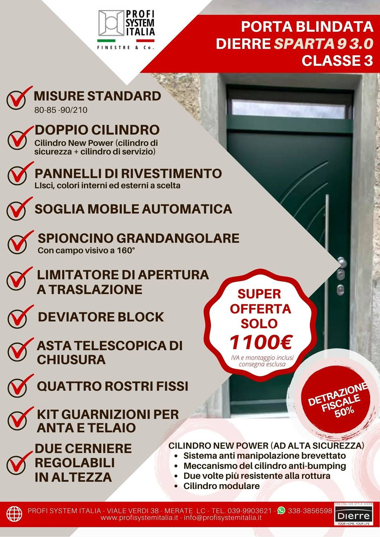 Porta blindata Dierre Sparta 9 3.0